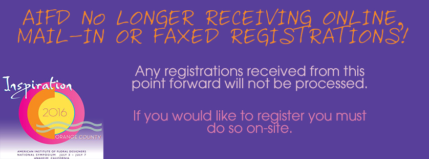 no more registration